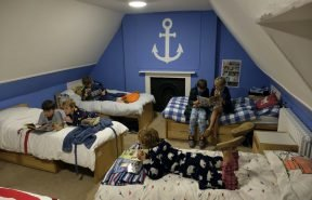 Boys dorms at OBH. Blue room, home from home