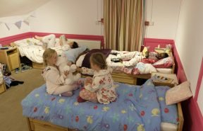 Girls dorms, cosy and comfortable