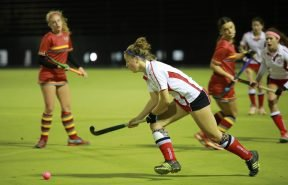 Floodlit astroturf pitch where pupils can enjoy games of hockey