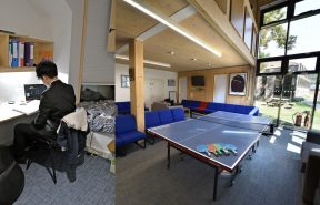 Bishop's Stortford College Boys' Boarding House Study Room and Common Room