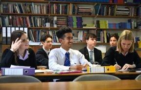 Bishop's Stortford College Sixth Form Lesson