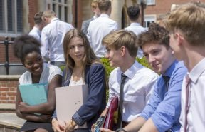 Sixth Formers at Gordon's are offered independent learning within a supportive structure. The school's ethos incorporates a focus on excellent A Level results together with nurturing curiosity, interest and achievement beyond the curriculum.