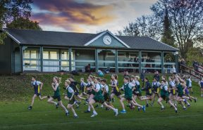 As well as engaging in competitive sport and co-curricular activities against other schools across the country, students at Gordon's enjoy friendly rivalry within their Houses in Inter-House competitions such as cross country.