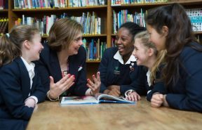 Friendships across year groups at Harrogate Ladies' College